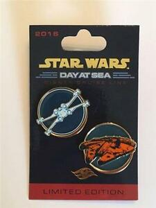 DCL-STAR-WARS-DAY-at-SEA-REBEL-ALLIANCE-SHIPS-LE-3000-DISNEY-2-Pin-SET