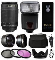 Beginner Telephoto Accessories Kit For Nikon D5500 D5300 D5200 D5100 D3300 D3200