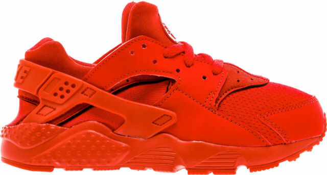finest selection 45654 12ee8 Nike Huarache Run Little Kids 704949-600 University Red Shoes Youth Size 1