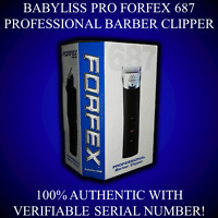 Babyliss Forfex 687 Professional Detachable Blade Ceramic Barber Clipper Fx687w