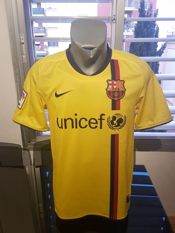 CAMISETA SHIRT VINTAGE NIKE FC BARCELONA LFP N°10 MESSI TALLA S