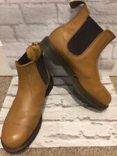 Men's DR MARTENS Leather VINTAGE Dealer Boots Uk Size 10 EU44.5 Made In England