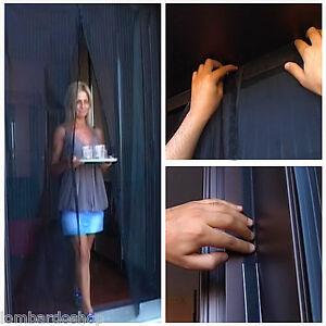 Vorhang-Moskitonetz-Magnetisch-Universal-mit-Magnet-Insekten-Fliegen-Muecken-Haus