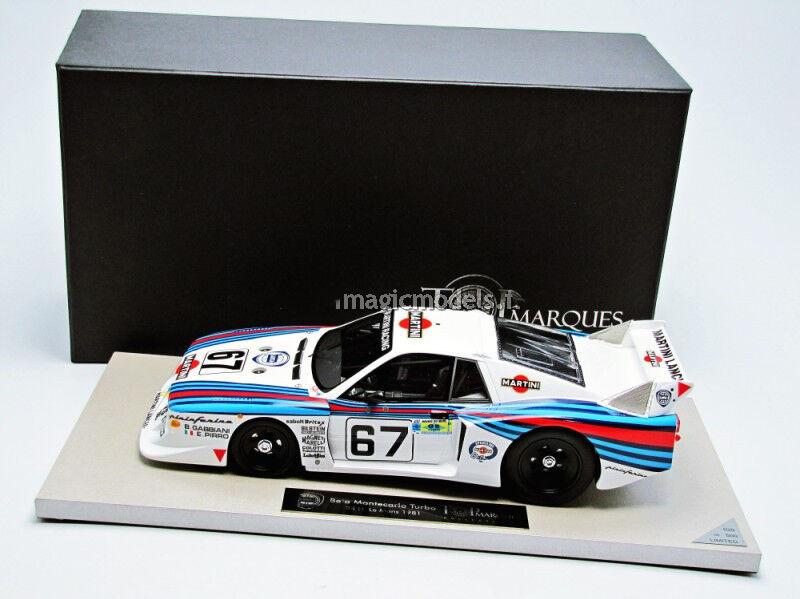 Top Marques Lancia Beta Montecarlo Turbo Le Mans 1981  67 1 18 Neu  Im Lager