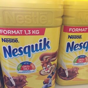 Lot-Revendeur-Destockage-4-Chocolat-Poudre-Nessuik-De-1-3-Klg-Chacun