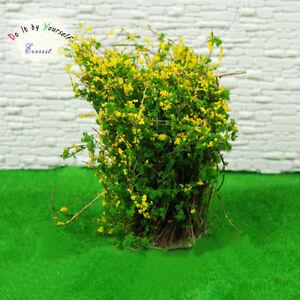4-Dollhouse-Window-Box-Layout-Scenery-Landscape-Model-Ground-Cover-Flower-Yellow