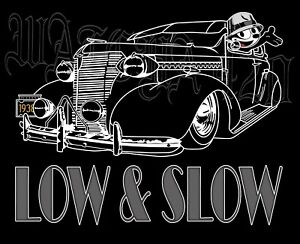 Details about 1938 Chevrolet With Felix The Cat 2 Door Sedan Lowrider Men's  T-Shirts