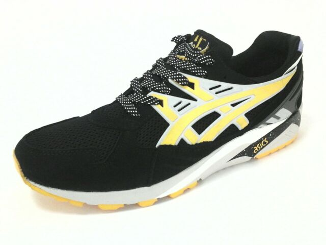ea8fb269f96e ASICS X Sneaker Freaker GEL Kayano Trainer Son of Alvin Black Yellow ...