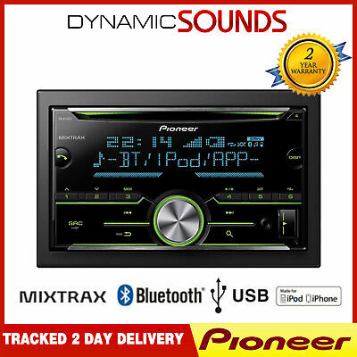 Pioneer FH-X730BT Double Din Car Stereo CD// MP3// USB// Bluetooth
