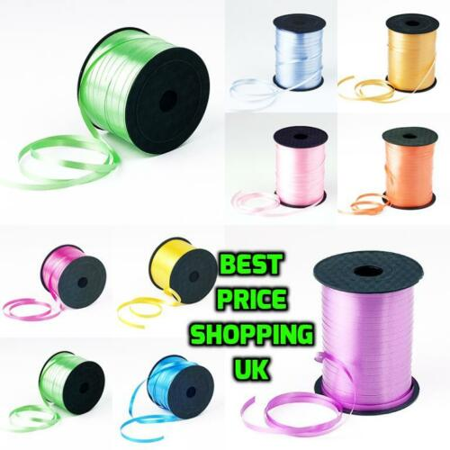 500M COLOUR BALLOON CURLING RIBBON HELIUM WEEDING BIRTHDAY GIFT And CRAFT PARTY