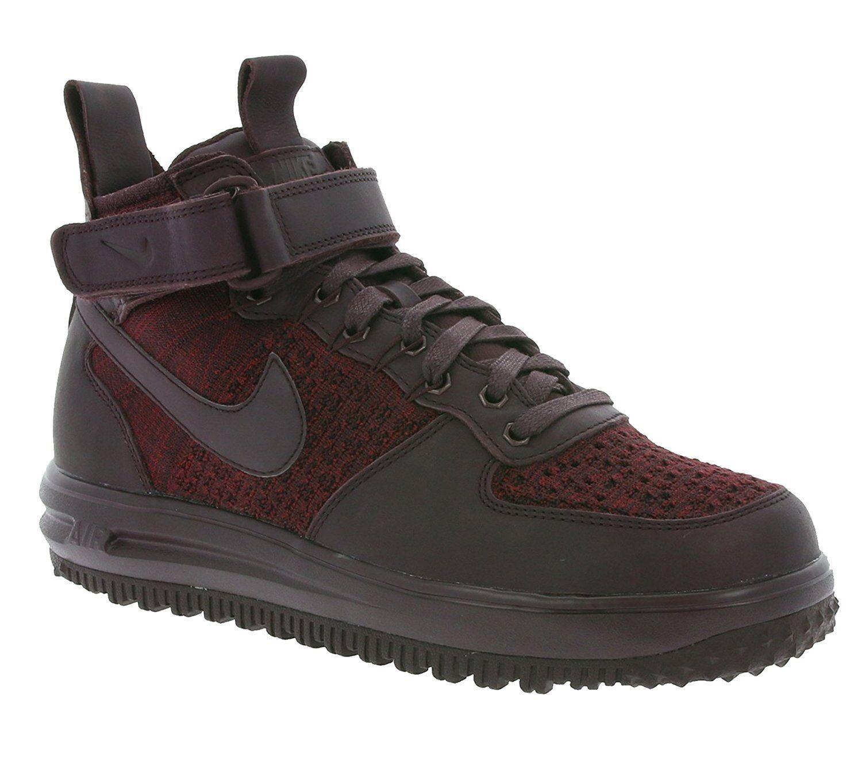 NIKE W LF1 Flyknit Workboot Women's Sneaker Black SIZE 6