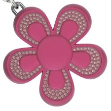 by Swarovski~ Pink Flower Key Ring~4G USB Memory ~Flash Drive~ Whimsical~NIB~$75