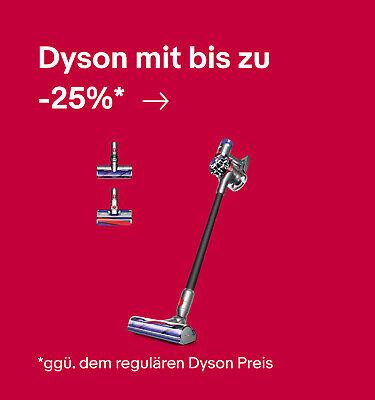 Dyson mit bis zu -25%* – *ggü. dem regulären Dyson Preis