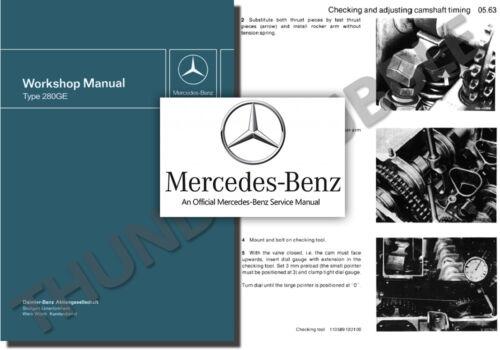research.unir.net Mercedes 280GE G-WAGEN 460 Service Workshop ...