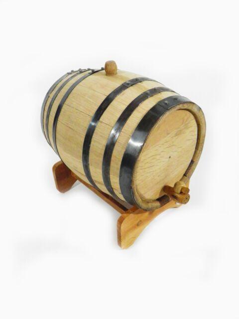 American White Oak Barrel, 10 Liter for Whiskey or Spirits