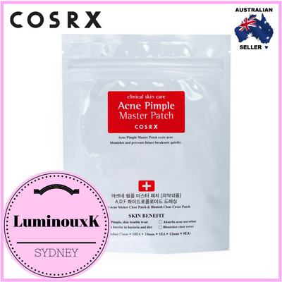 COSRX Acne Pimple Master Patch 1 pack(24 circle hydrocolloid patches ea)