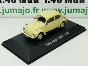 ARG28G-Voiture-1-43-SALVAT-Autos-Inolvidables-VOLKSWAGEN-1300L-BEETLE-1980