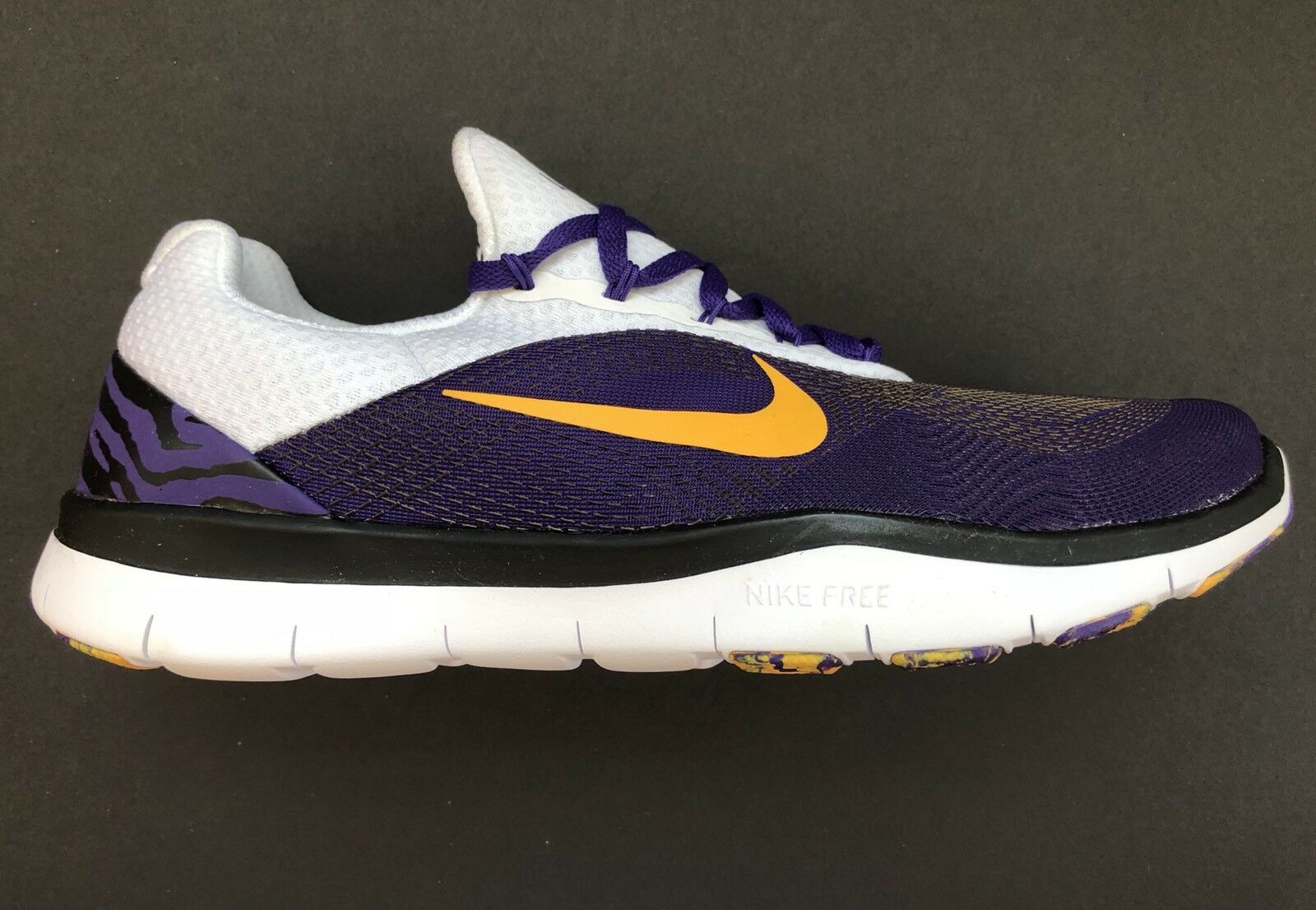 Nike LSU Tigers Free Trainer Edition V7 Week Zero Ltd Edition Trainer Shoes AA0881-500 Size 9 US d52535