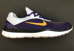 994cb23f686ee1 Nike LSU Tigers Free Trainer V7 Week Zero Ltd Edition Shoes AA0881 ...