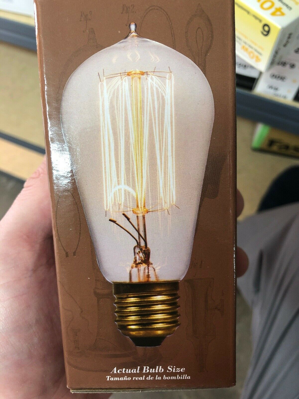 (12qty) Heritage 0772635  Decorative Clear Style Squirrel Cage Bulb