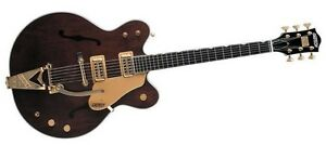 Guitare-Electrique-Gretsch-Professional-G6122-1962-Country-Classic-Walnut-Stain