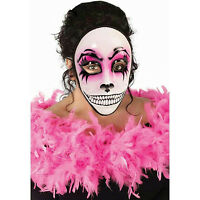 Women's Day Of The Dead Pink Masquerade Venetian Skull Face Mask