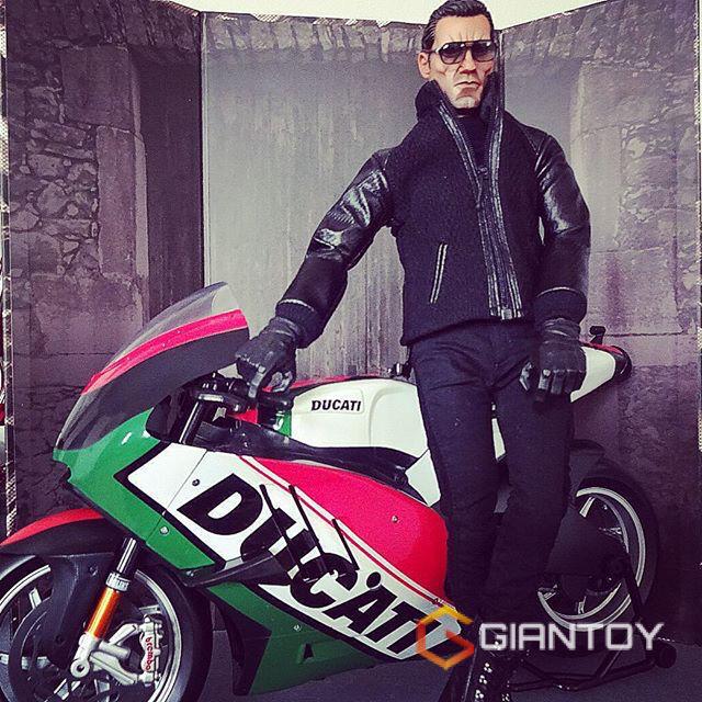 Onesixth 1 6 Scale Car Ducati Desmosedici  Design Motorcycle For 12  Figure