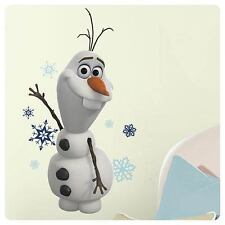 Disney Frozen Olaf Snowman Movie Wall Room Decals Large Roomates Sticker Snow