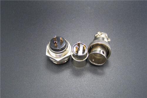 set 2,3,4,5,6,7 Pins Chassis Socket Plug Reverse Aviation plug Mic Plug GX16 M16