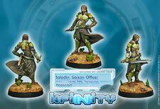Infinity BNIB Haqqislam-Saladino, oficial de enlace (Combi Rifle)