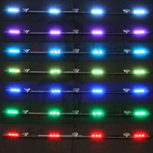 led leiste 12v 24v innenleuchte bunt beleuchtung lichterkette lkw kfz streifen ebay. Black Bedroom Furniture Sets. Home Design Ideas