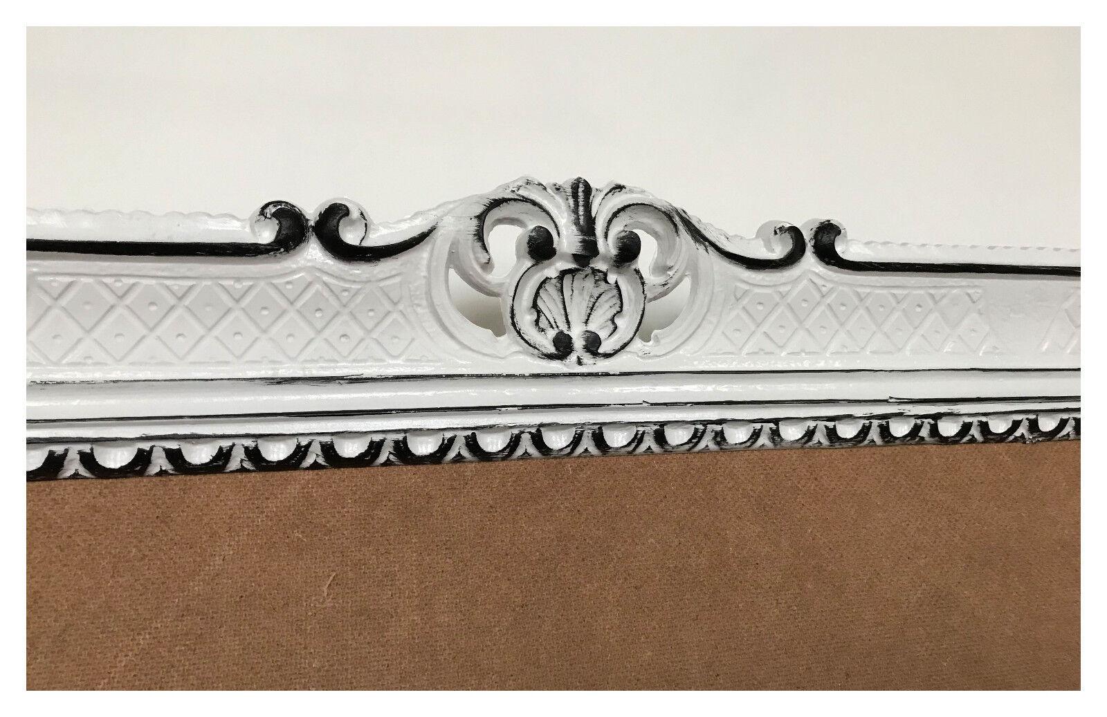 Bilderrahmen wei schwarz antik barock rokoko fotorahmen for Couchtisch 90x70