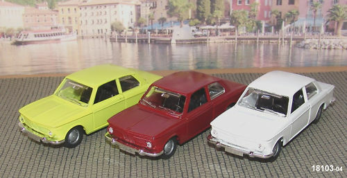 Märklin 18103-04 BMW 2002 1 43 Yellow White Red-New Ovp