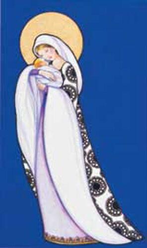 "Dufex Foil Picture Print size 3 1//2 x5 3//4/""-3Pk Madonna /& Child by Romenelli"