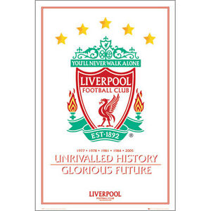 Liverpool-FC-Unrivalled-History-POSTER-61x91cm-NEW-Soccer-Football