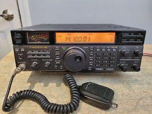 Icom Ic 738 Hf Amateur Transceiver Super Clean C My Other Ham Radio Gear Ic Ebay