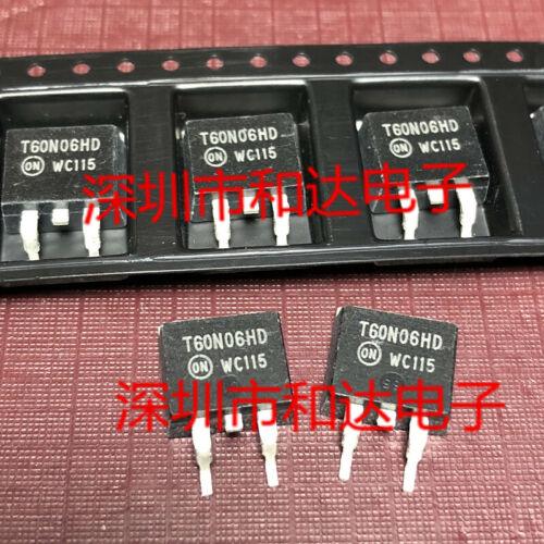 10 x T60N06HD MTB60N06HD N−Channel Power MOSFET TO-263 60V 60A