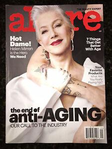 Details about ALLURE MAGAZINE September 2017 THE BEAUTY EXPERT Makeup HELEN  MIRREN Anti-Aging