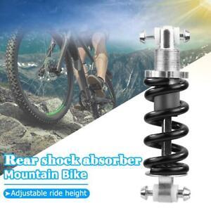 1x-faltbar-MTB-Bike-Bicycle-Metal-Rear-Suspension-Feder-Stossdaempfer-hinten
