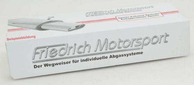 FM Duplex Sportendschalldämpfer für Ford Focus III Stufenh., 1.6l 16V 77/92kW/1.