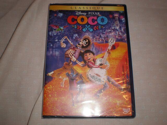 dvd disney coco N°120  (neuf sous blister)