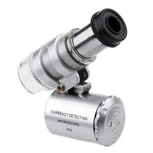 Taschen-Mikroskop-Juwel-Juwelier-Vergroesserungsglas-60x-mit-LED-Licht-Glas-D6V1