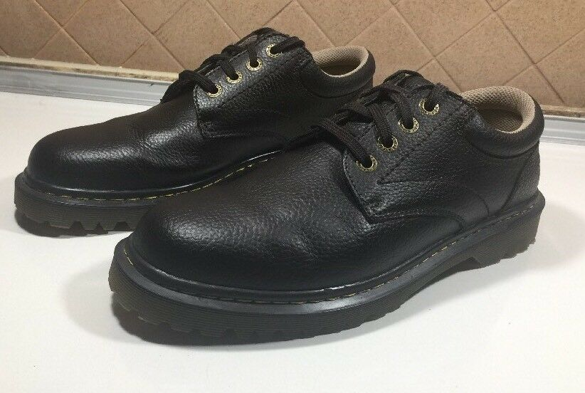 125 Dr Martens Ashfeld Black Pebbled Leather Lace Up Oxford shoes Men Sz 12