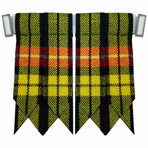 2019 DernièRe Conception Cc Buchnan Tartan Kilt Flashes Avec Lourd Boucle / Kilt Écossais Flashes Calcul Minutieux Et BudgéTisation Stricte