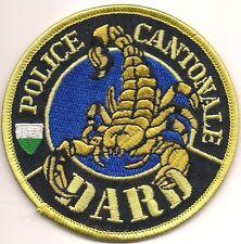 SCHWEIZ: Kantonspolizei SEK SWAT DARD  VAUD  SPEZIALEINSATZKOMMANDO Police Patch