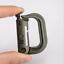 5PCS D-Ring Quick Link Carabiner Spring Snap Hook Clip Keyring Hanging Buckles