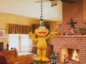 Sesame Street Muppets Zoe Ceiling Fan Pull Light Lamp Chain Decor K1103 B2