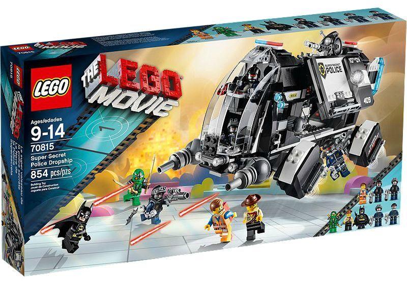 LEGO® The Lego Movie 70815 Super Secret Police Dropship NEU OVP NEW MISB NRFB