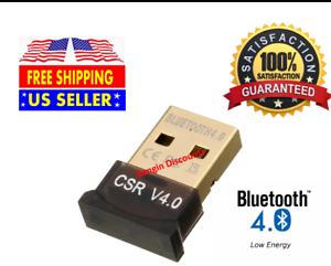 New Mini USB Bluetooth Adapter s CSR Dual Mode Receiver for Windows 10//8//7//X*