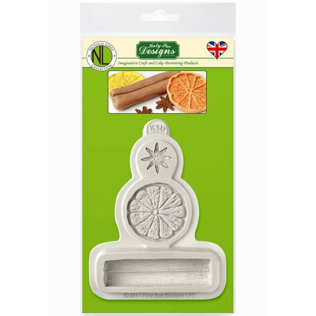 Winter Spices Katy Sue Designs Silicone Mould For Cake Decorating Cupcakes Su